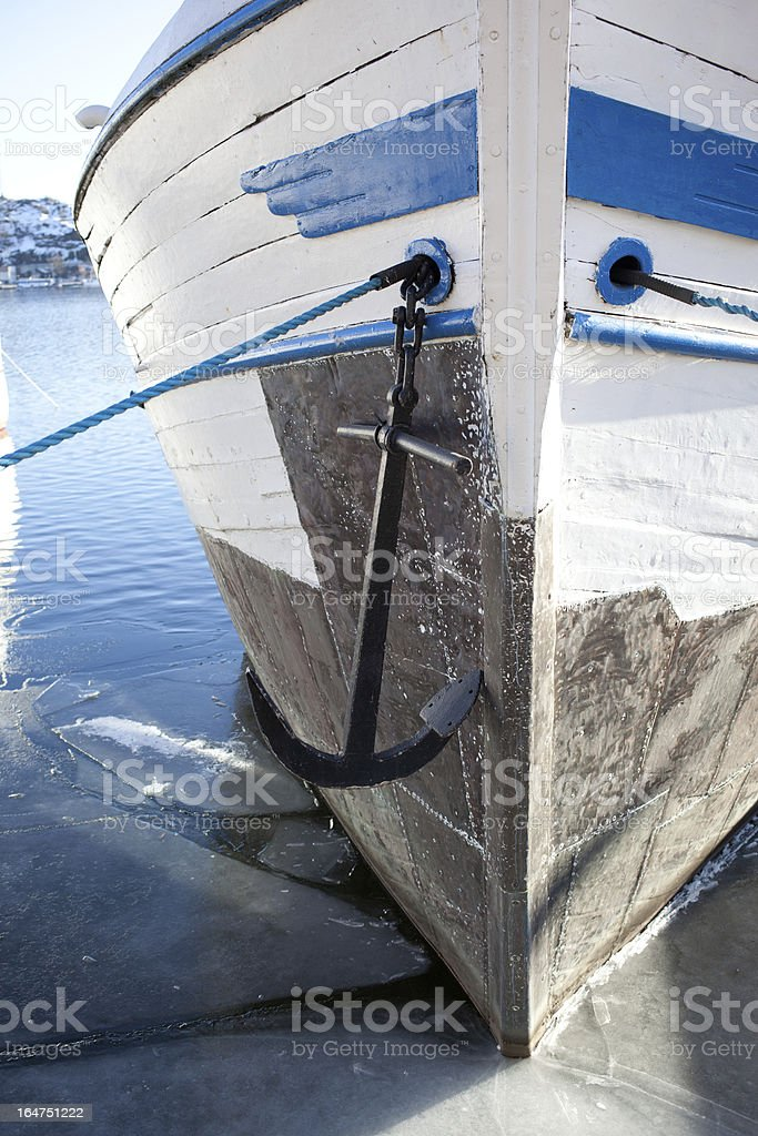 The anchor royalty-free stock photo