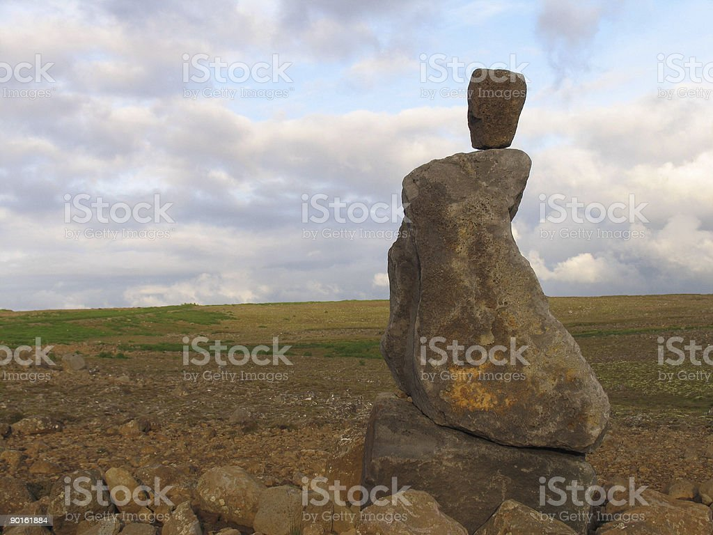 The Ancient Beholds royalty-free stock photo