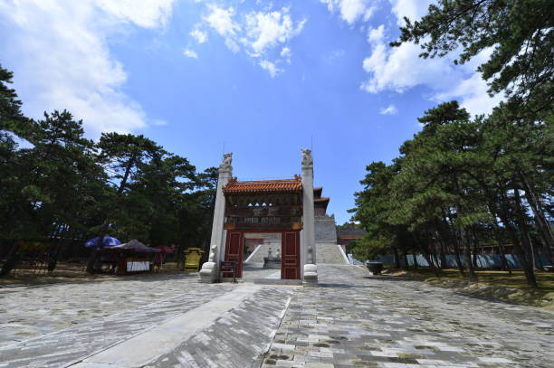 The ancient Chinese buildings – zdjęcie