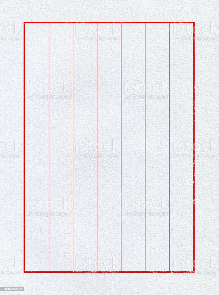 chinese writing paper template Printable handwriting paper in black, gray, and white except for one colored rule file, this page is full of printable black and white and grayscale lined handwriting paper.