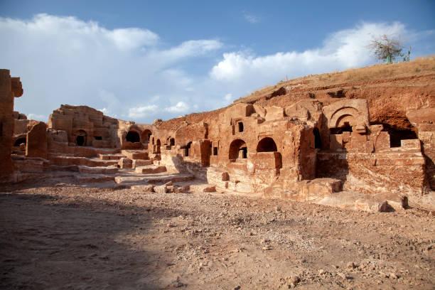 The Ancient City of Dara, Mardin, Southeastern Anatolia, Turkey stock photo