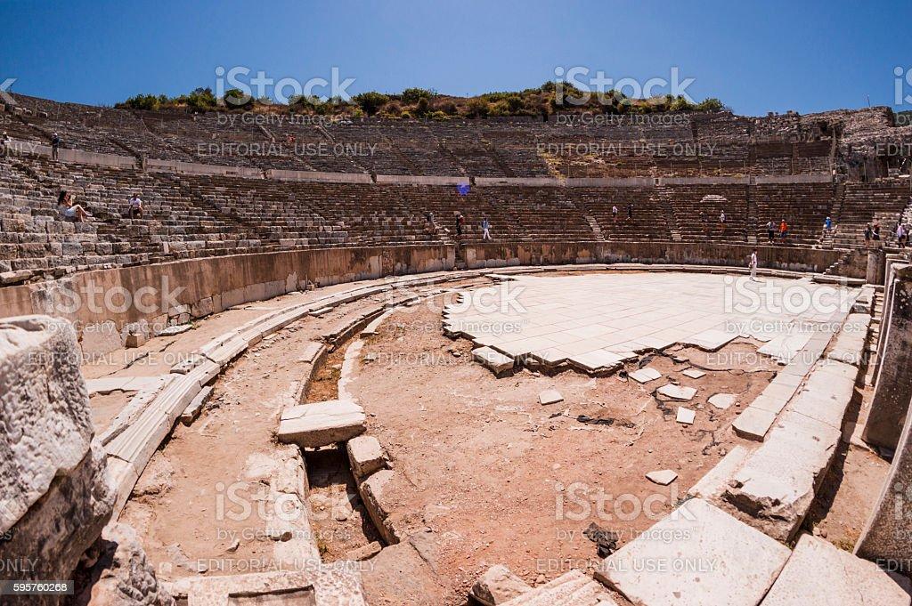 The ancient city of Ephesus stock photo