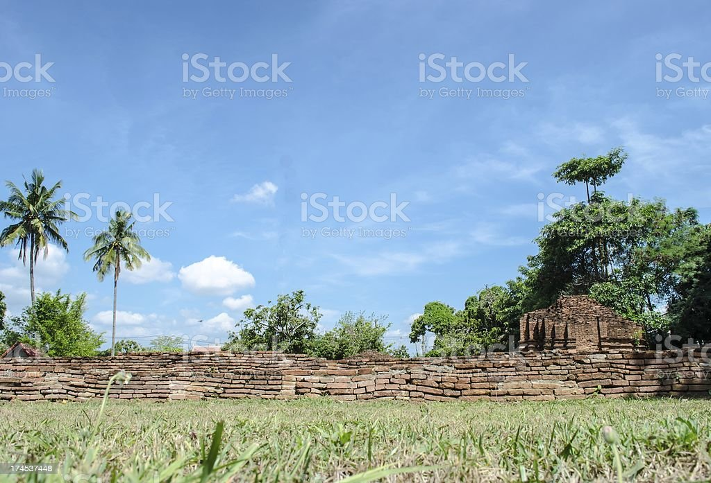 The ancient city royalty-free stock photo