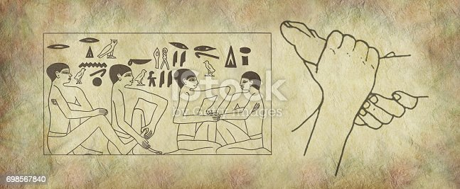 istock The Ancient Practice of Reflexology Wall Art 698567840