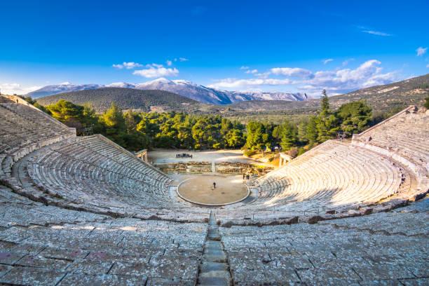 Das antike Theater von Epidaurus (oder