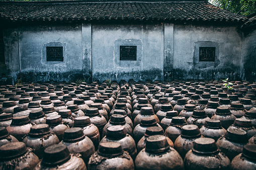 The ancient town of China