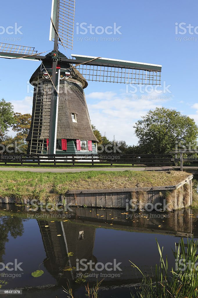 The ancient windmill royalty-free stock photo