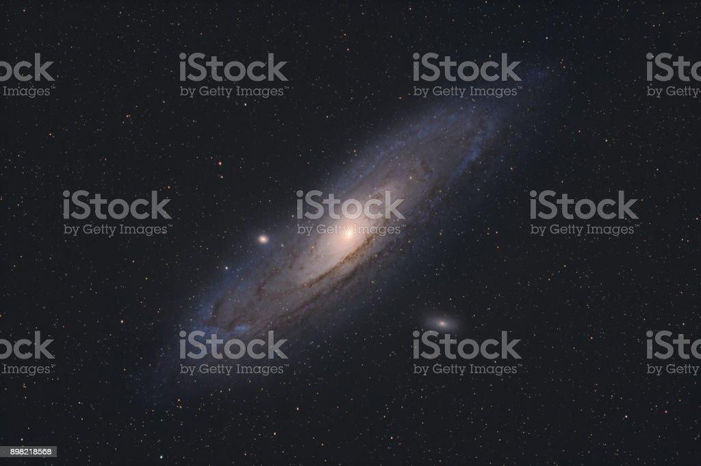 Die Andromeda-Galaxie, Messier 31 – Foto