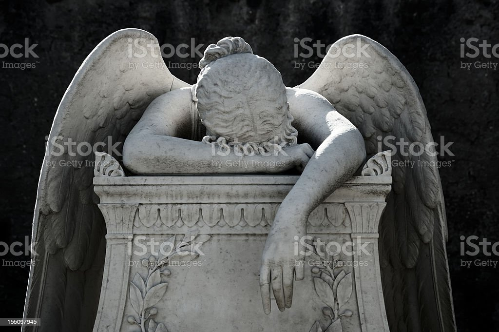 The Angel of Pain stock photo