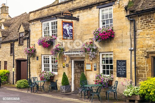 istock The Angel pub in Cotswold village of Burford 925850658