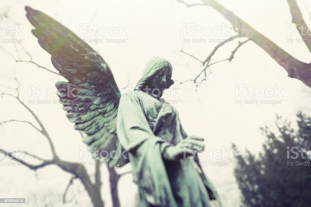 The Angel – There is a hope stock photo