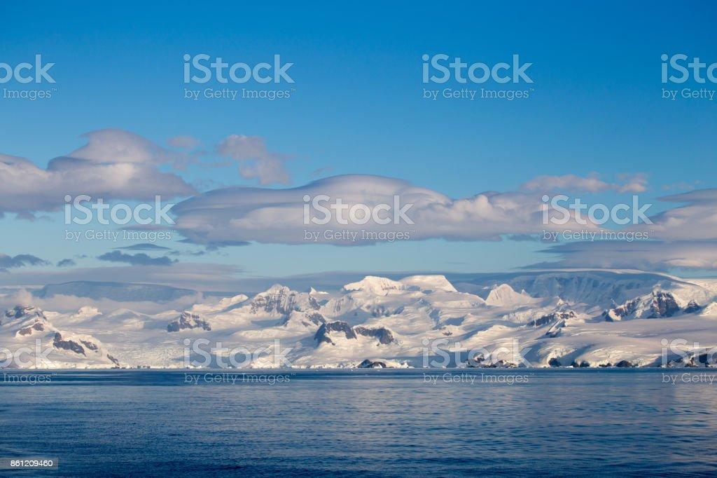 The Antarctic Peninsula stock photo