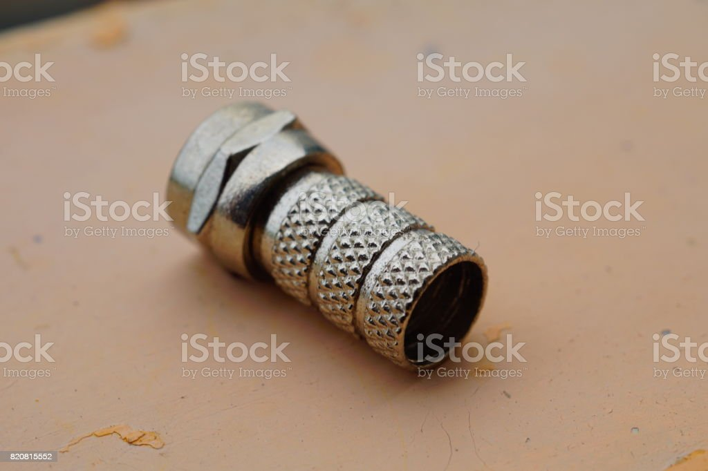 The antenna plugs stock photo