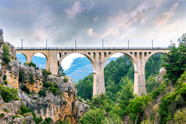 The appearance of the bridge at the Historic Vard. In 1888 the train was built by the Germans. Adana, Turkey. The appearance of the bridge at the Historic Vard. In 1888 the train was built by the Germans. Adana, Turkey railway bridge stock pictures, royalty-free photos & images
