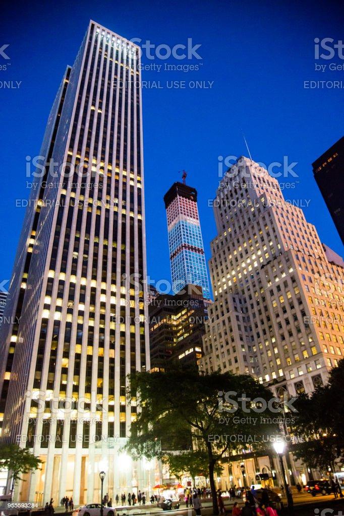 Apple Store em Nova York (5ª Avenida) - foto de acervo