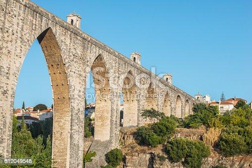 The Aqueduct Aguas Livres (Portuguese: Aqueduto das Aguas Livres