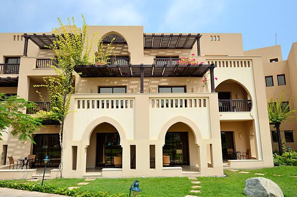 Die Arabeske-Villen in Luxus hotel, Fujairah, VAE – Foto