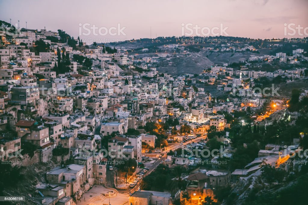 The Arabic Styled Cityscape stock photo