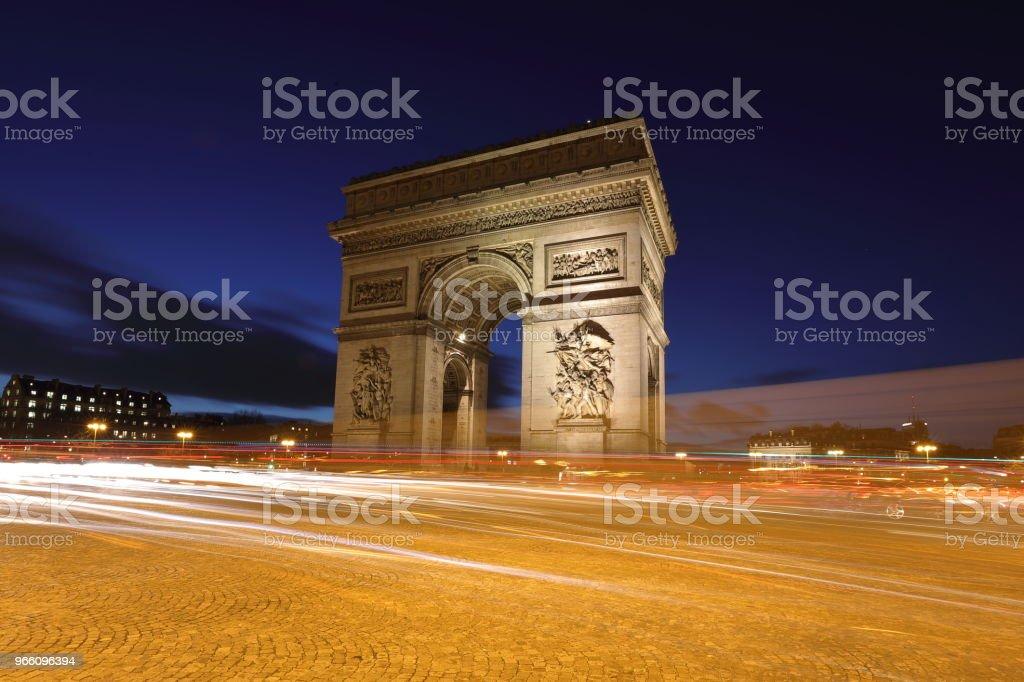 the Arc de Triomphe : Paris, France - Royalty-free Arc de Triomphe - Paris Stock Photo
