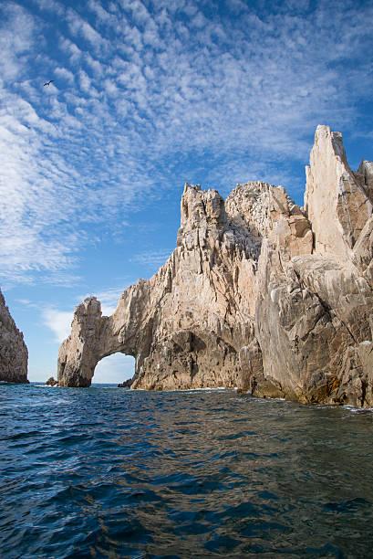 El Arco de Cabo san lucas mexico harbor archway stock photo