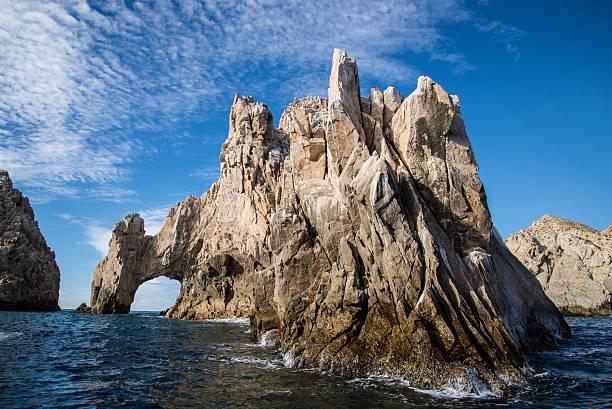 El Arco de Cabo san lucas mexico harbor stock photo