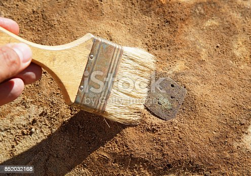 istock The archaeological find 852032168
