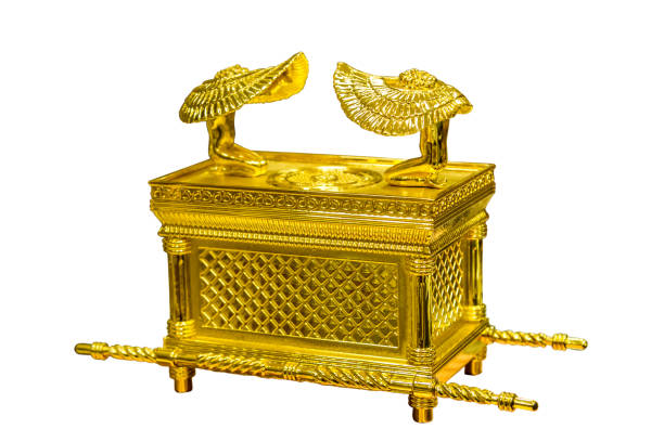 The Ark of the Covenant, Jewish religious symbol stock photo