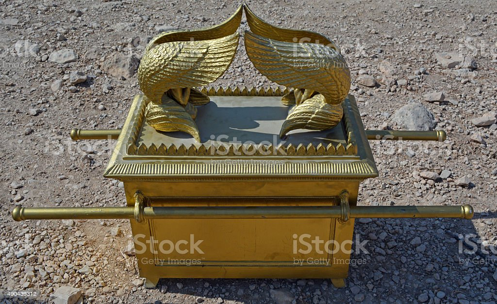 The Ark of the Covenant stock photo