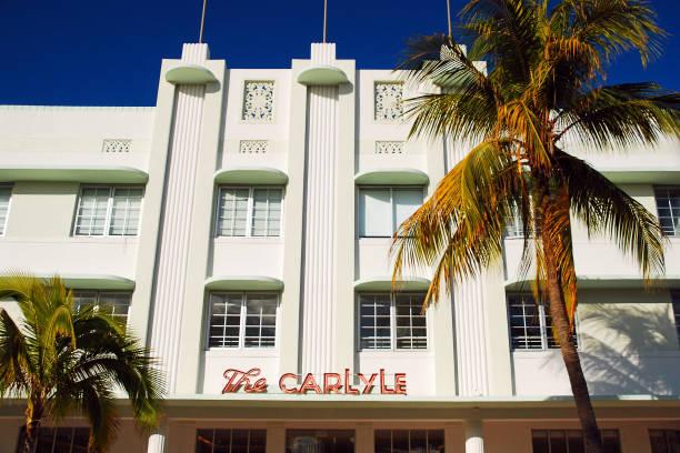 Das Art Deco Carlyle Hotel in Miami Beach – Foto