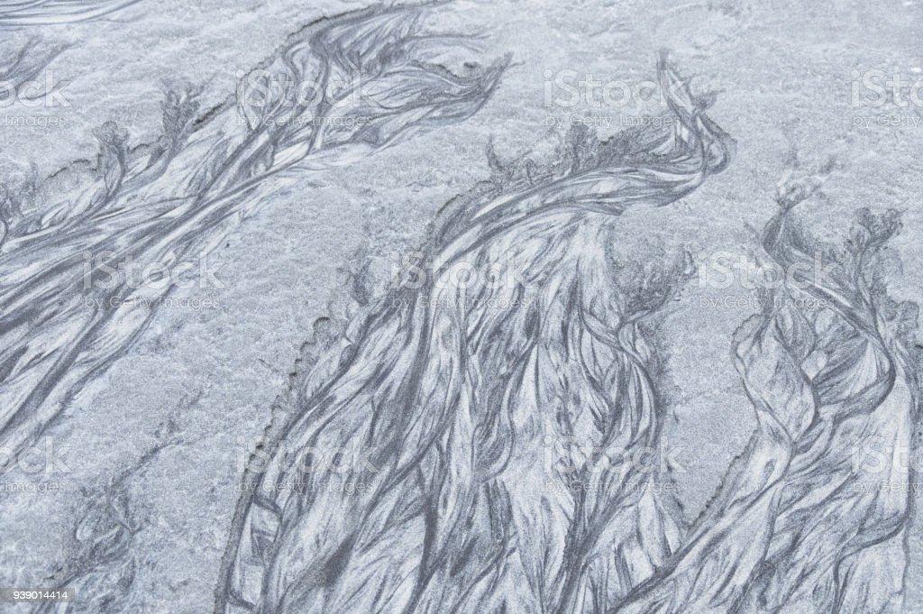Plaj kum sanatı stok fotoğrafı