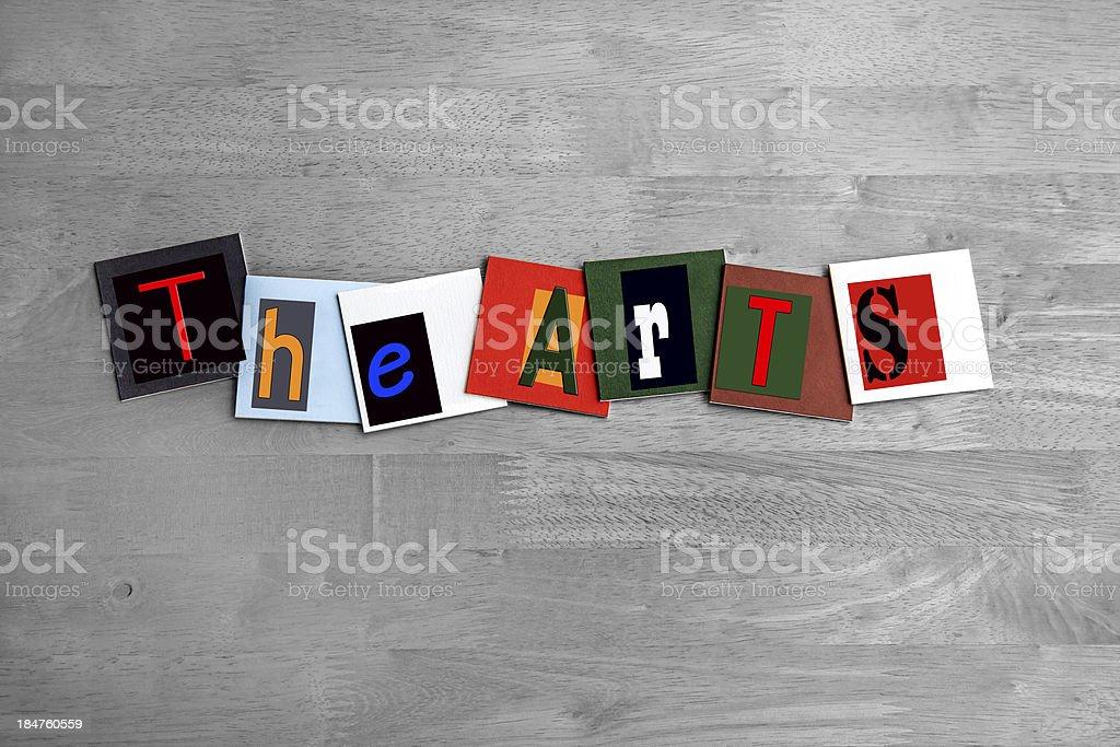 The Arts - art design / sign stock photo