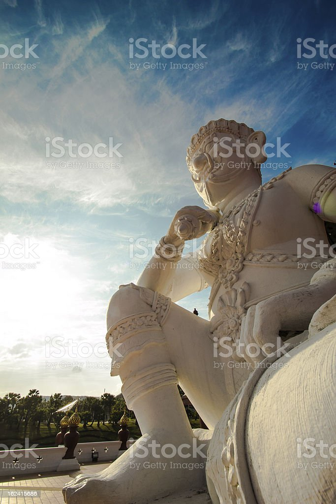 The Asian Giant Statue royalty-free stock photo