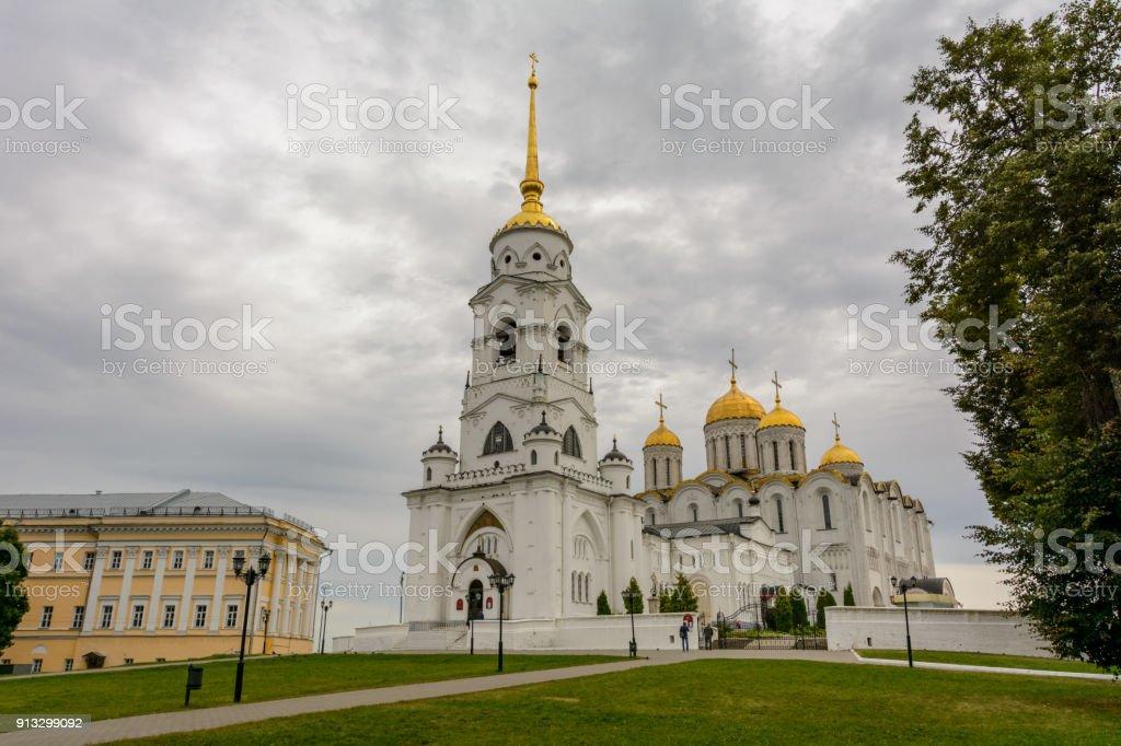 La cathédrale de la Dormition à Vladimir est la vue principale de la ville de Vladimir, Russie - Photo