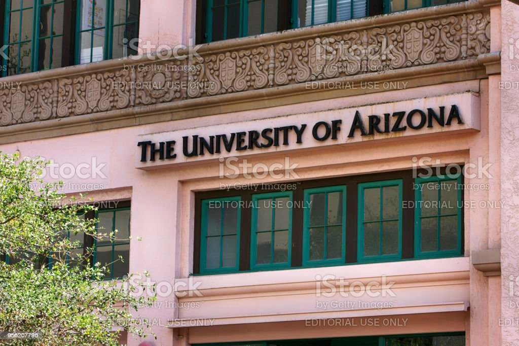 The A-Store University of Arizona in downtown Tucson AZ stock photo