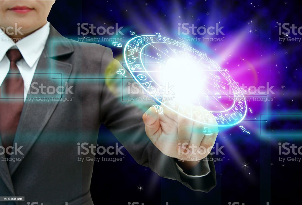the astrology concept. stock photo