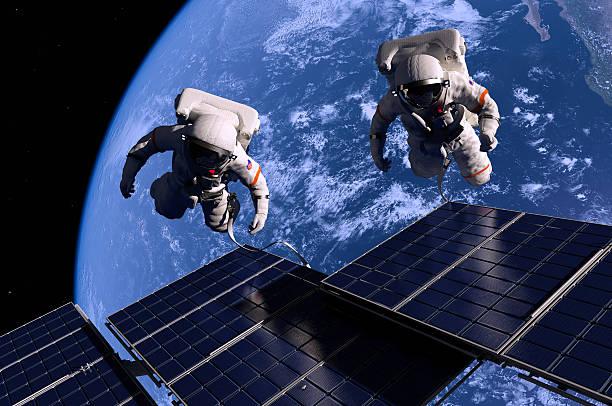 The astronaut stock photo