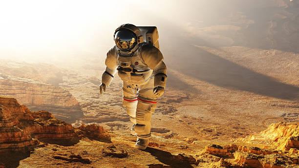 die astronaut - kennedy space center stock-fotos und bilder