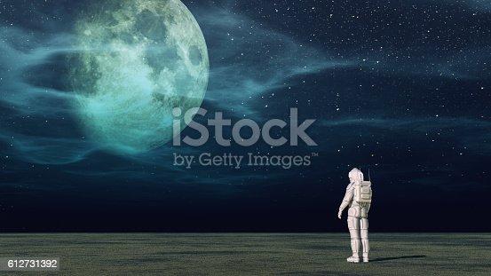 istock The astronaut 612731392