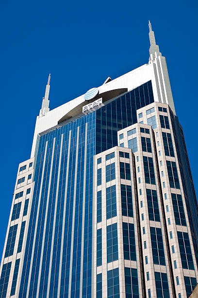 The AT&T Building In Nashville, Tennessee stock photo