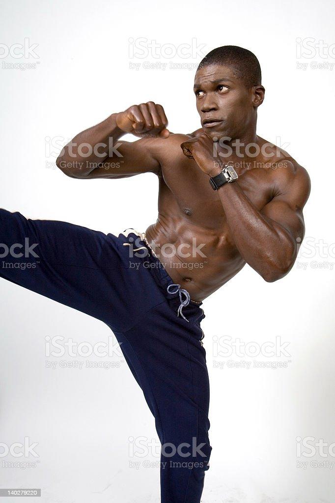 The Athlete 15 royalty-free stock photo