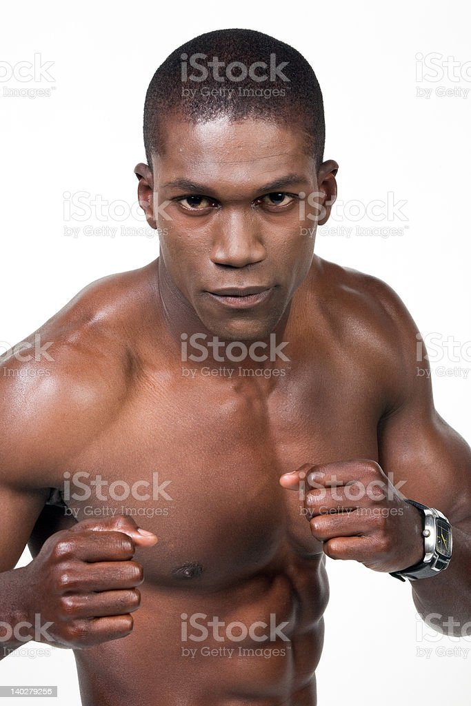 The Athlete 35 stock photo