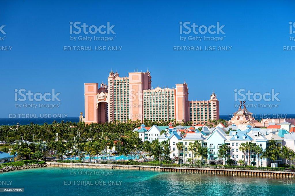 Das Atlantis Paradise Island Resort Befindet Sich Auf Den Bahamas Stockfoto Und Mehr Bilder Von Architektur Istock