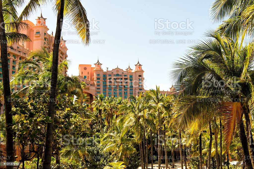 The Atlantis Paradise Island Resort Located In The Bahamas Stock Photo Download Image Now Istock