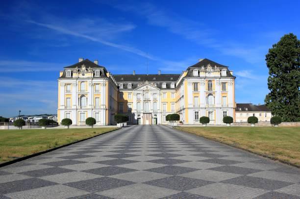 The Augustusburg Palace. Brühl, Germany, Europe. stock photo