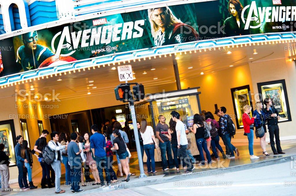 Avengers Screening im Bruin Theater – Foto