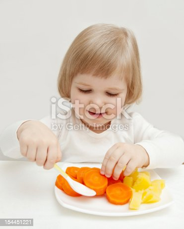 istock The baby's  dinner 154451221