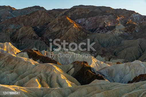 The Badlands, Death Valley, California