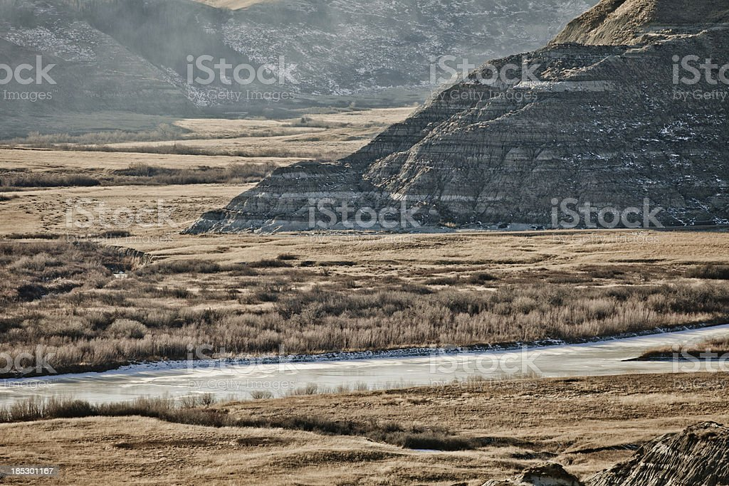 The Badlands royalty-free stock photo
