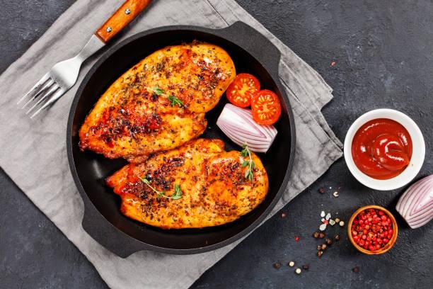 Das gebackene Huhn – Foto