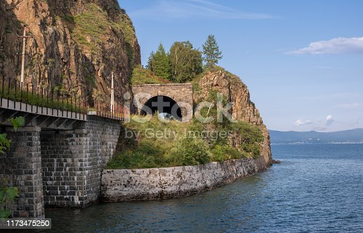 Lake Baikal in Eastern Siberia. Irkutsk region